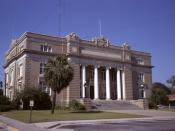 English: Tift County Courthouse, (Built 1912), Tifton, Georgia