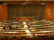 English: United Nations Trusteeship Council chamber