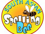 English: South Asian Spelling Bee Official Logo