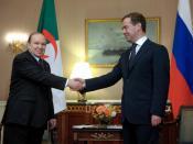 NEW YORK. With President of Algeria Abdelaziz Bouteflika.