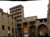 Plaça del Rei de Barcelona