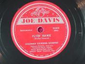 English: Flyin´ Hawk: Coleman Hawkins & Thelonious Monk, October 19, 1944