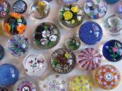 English: A picture of part of my paperweight collection