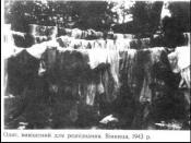Clothing of the repressed in Vinnytsia
