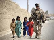Afghan National Police, 'America's Battalion' Marines maintain security in Garmsir [Image 9 of 9]