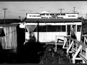 Some restaurants, such as The Choke 'Em Down Lunch Room in Belle Glade, Florida, welcomed both white and black patrons alike, as indicated by the advertisement