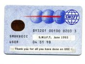 SWIFT Smart Card