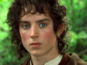 Elijah Wood as Frodo in Peter Jackson's live-action version of The Lord of the Rings.