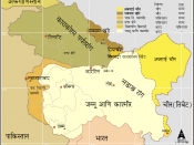 Kashmir region - Political and Military standoff between India, China and Pakistan The Jammu and kashmir region is admin by India and claimed by Pakistan.
