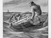 Illustration from a novel, The Ghost Ship by John Conroy Hutcheson.