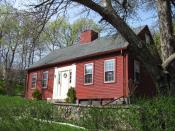 English: John Wade House, Medford Massachusetts, April 2010