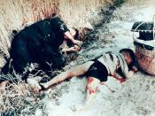 Unidentified Vietnamese man and child killed by US soldiers
