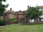 English: Restoration House, Rochester The inspiration for Satis House, the home of Mrs Haversham in