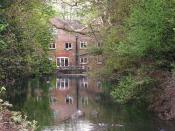 The old mill in Ewell
