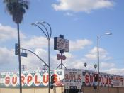 English: Van Nuys Surplus