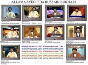 ahlebait tv hidayat tv allama syed fida hussain bukhari sfhbukhari