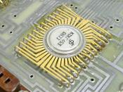 USSR made integrated circuit