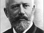 Classical composer Pyotr Ilyich Tchaikovsky