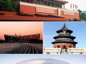English: Montage of various Beijing images