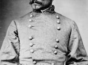 English: General P. G. T. Beauregard, Confederate States Army Español: Fotografía del General Confederado P.G.T. Beauregard. La fotografía original se encuentra en el Archivo Nacional de Los Estados Unidos, que en su gran mayoría son de dominio público.