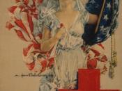 World War I poster by Howard Chandler Christy (1873-1952).