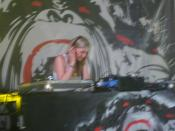 DJ Mary Anne Hobbs performing at Glade Festival 2007.