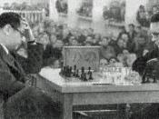 Capablanca vs Botvinnik in 1936