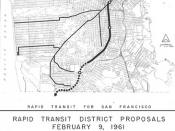 Rapid Transit for San Francisco: Rapid Transit District Proposals, February 9, 1961