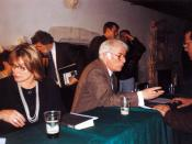 Seamus i Marie Heaney, Wieczór Irlandzki, kościół Dominikanów w Krakowie, 4 października 1996 Seamus and Marie Heaney, Irish Night at the Dominican Church, Kraków, 4 Oct 1996
