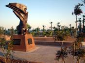 English: Armenian Genocide Memorial in Larnaca Ελληνικά: Μνημείο Αρμενικής Γενοκτονίας στη Λάρνακα