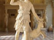 Artemis with a hind, better known as