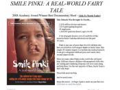 Smile Pinki, Smile Train
