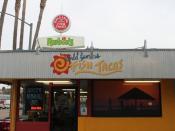 English: The original Rubio's Fresh Mexican Grill in San Diego, California.