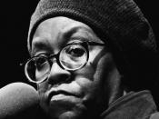 English: Gwendolyn Brooks, Miami Book Fair International, 1985