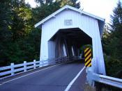 Hoffman Covered Bridge - Oregon