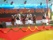 English: Inter School Dance Competition
