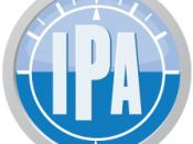 English: Independent Pilots Association (IPA) United Kingdom logo