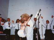 Saint Salicia Tate performs a healing