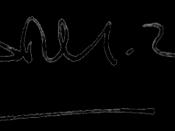 Image of Gabriel Garcia Marquez signature
