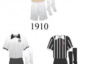 Português: Evolução do Uniforme do Sport Club Corinthians Paulista