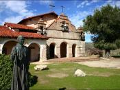 Modern mission of San Antonio de Padua