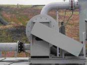 English: Landfill gas blower