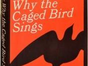 Cover from the first edition of I Know Why the Caged Bird Sings (1969)