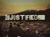 Intertitle from the television program Justified
