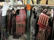 The Prop Store of London - LA - Last Samurai costumes