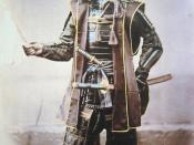Samurai in complete armour Français : Samouraï en amure complète Español: Samurai en armadura completa Italiano: Samurai in armi (circa 1860) Svenska: Samuraj i full rustning