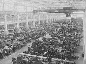 Interior of the Ford River Rouge tool & die factory