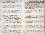 Page from William Godwin's journal recording Mary Wollstonecraft Godwin's (Mary Shelley's) birth on 30 August 1797; held at the Bodleian Library