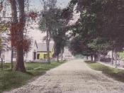 English: High Street, Gilmanton Iron Works, New Hampshire