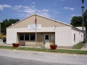 Walton City Hall in Walton, Kansas